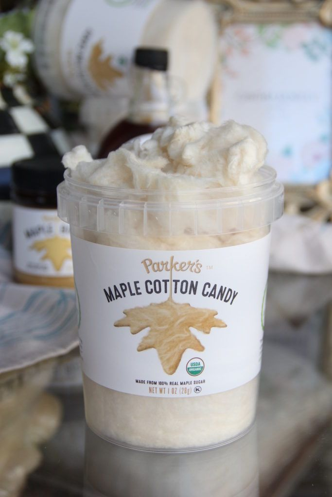 Parker's Cotton Candy reviewed by Skinny Girl Standard, 115 calories a tub.