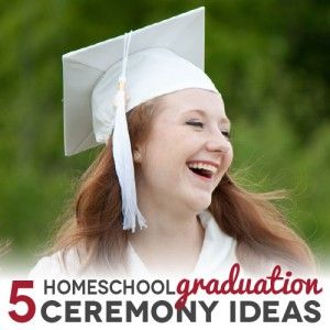 If you are looking for homeschool graduation ceremony ideas that fit your family, there are many options from which to choose. Here are a few that work for many different types of kids and families.