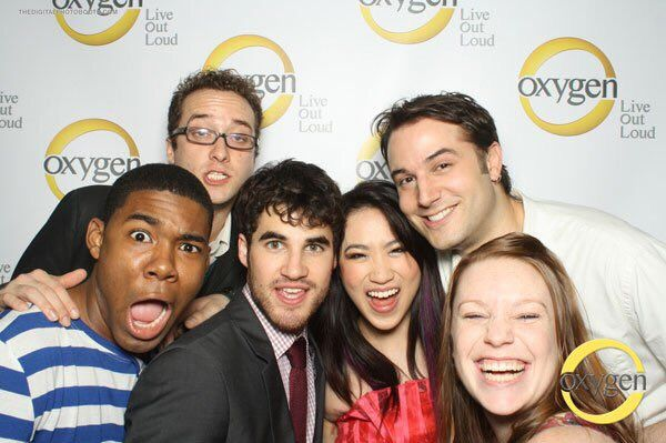Hamming it up with these crazies for @oxygen network press event! #GoodTimes #TimeHop @DarrenCriss #oxygen