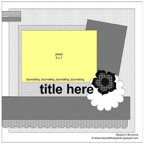 135 best inspired blueprints scrapbook sketches images on inspired blueprints sketch 13 inspiredblueprints scrapbooking sketch malvernweather Image collections