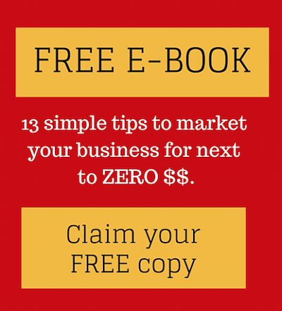 13 Simple tips to market your business for next to zero $$'s