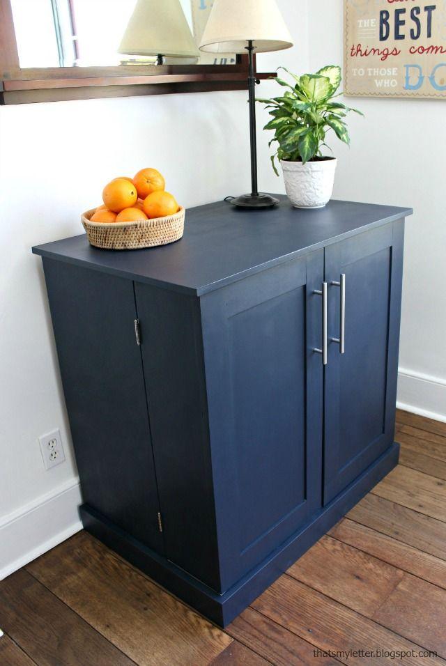 Diy Freestanding Kitchen Pantry Cabinet