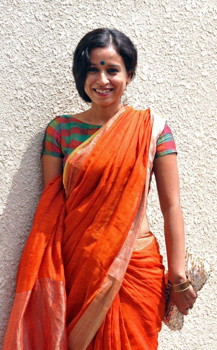 saree .... Blouse.... Fab!!