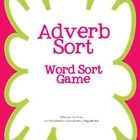 Free! Adverb sort game can be used at a center, to reteach, or to reinforce the concept of adverbs.