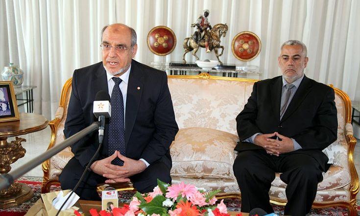 Le Premier ministre tunisien, Hamadi Jebali - Aeroport de Rabat - 15 Juin 2012   (Photo : MAP)