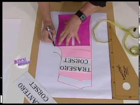 COMO REALIZAR UN CORSET    Hermenegildo Zampar  - Bienvenidas TV - Programa del 07 de Junio de 2012