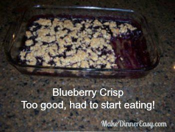 online Recipe and   Blueberry Frozen Crisp Crisp  shoe stores Blueberry Crisp Blueberries Recipes Blueberry