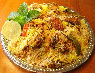 Spicy Chicken Biryani