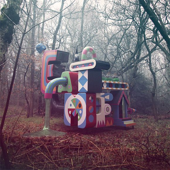 The Sugary Death Machine by Finger Industries Ltd , via Behance
