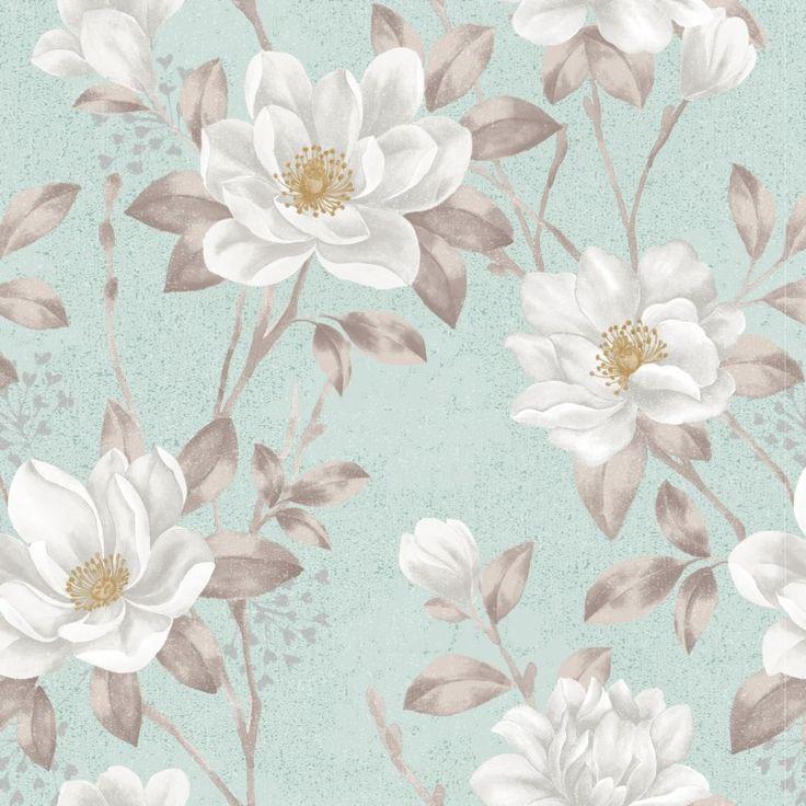 Papel de Parede Floral 34 - Floral