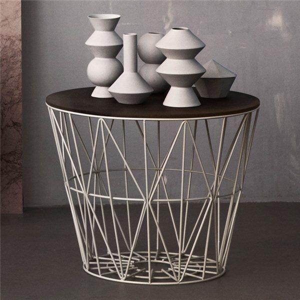 1000 ideen zu metallkorb auf pinterest ferm living korb. Black Bedroom Furniture Sets. Home Design Ideas