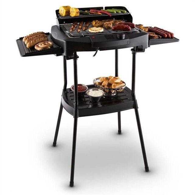 Dr. Beef II Grill de table électrique Barbecue sur pied 2000W ONECONCEPT
