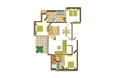 Three Bedroom Floorplan Example Townhome Floor Plans