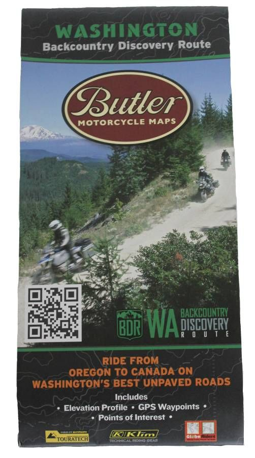 Butler Motorcycle Maps - Washington Backcountry Discovery Route (WABDR) - http://www.pashnitmoto.com/butler-maps-s/3.htm