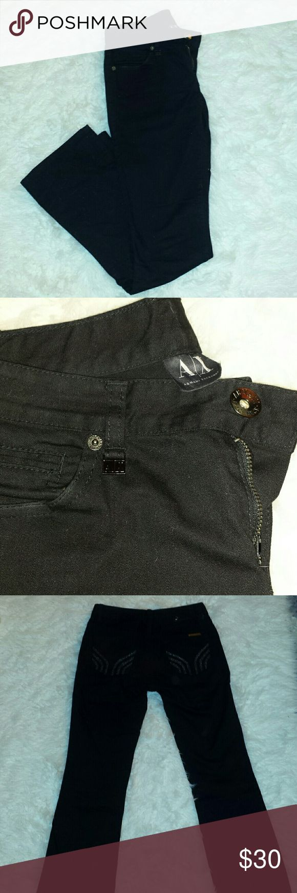 Armani exchange boot cut jeans Armani exchange boot cut jeans, worn few times. Size is 2 regular. Armani Exchange Jeans Boot Cut