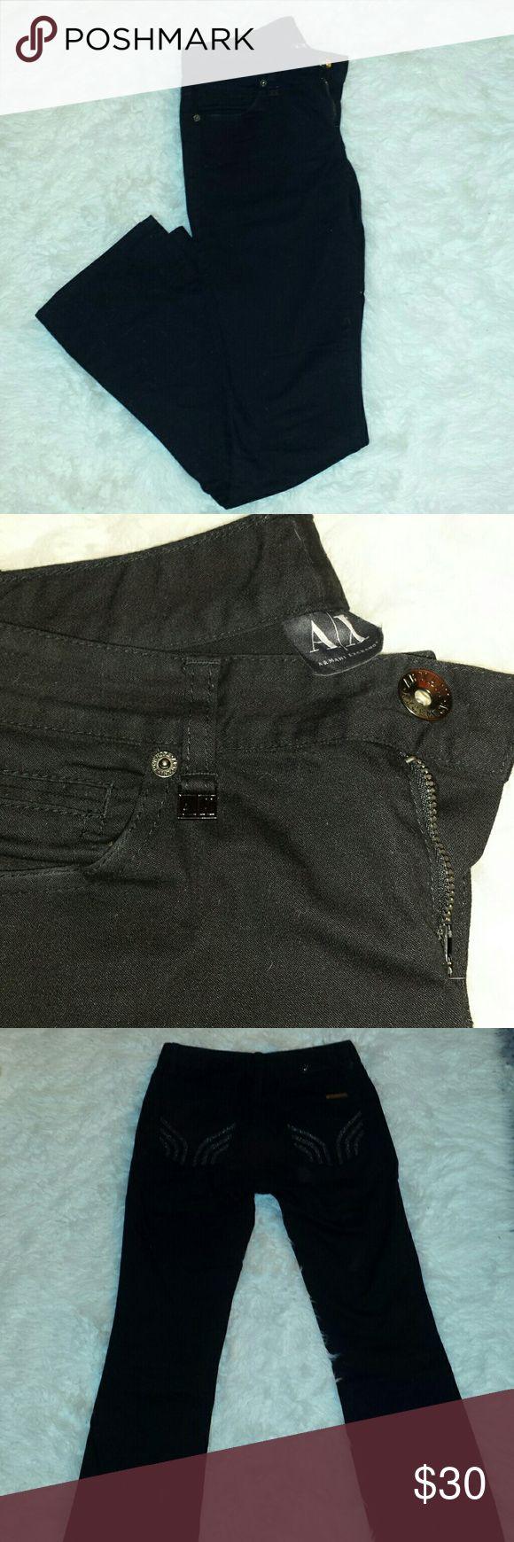 Armani exchange boot cut jeans Armani exchange boot cut jeans, worn few times. Size is 2 regular. Armani Exchange Jeans Boot Cut