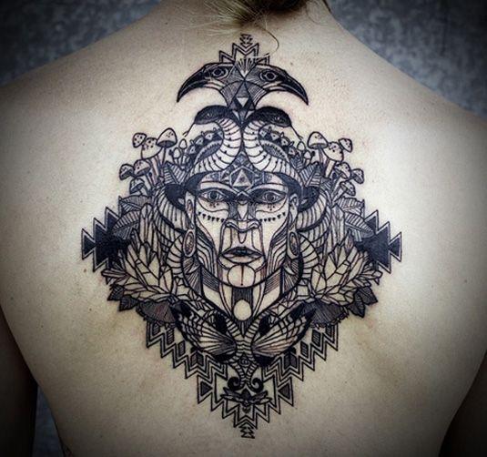 David Hale | Tattoo Design | Creative Bloq | Sugar Skull by Ollie Munden | Tattoo Design | Creative Bloq | http://www.creativebloq.com/illustration/20-brilliant-tattoo-designs-712379