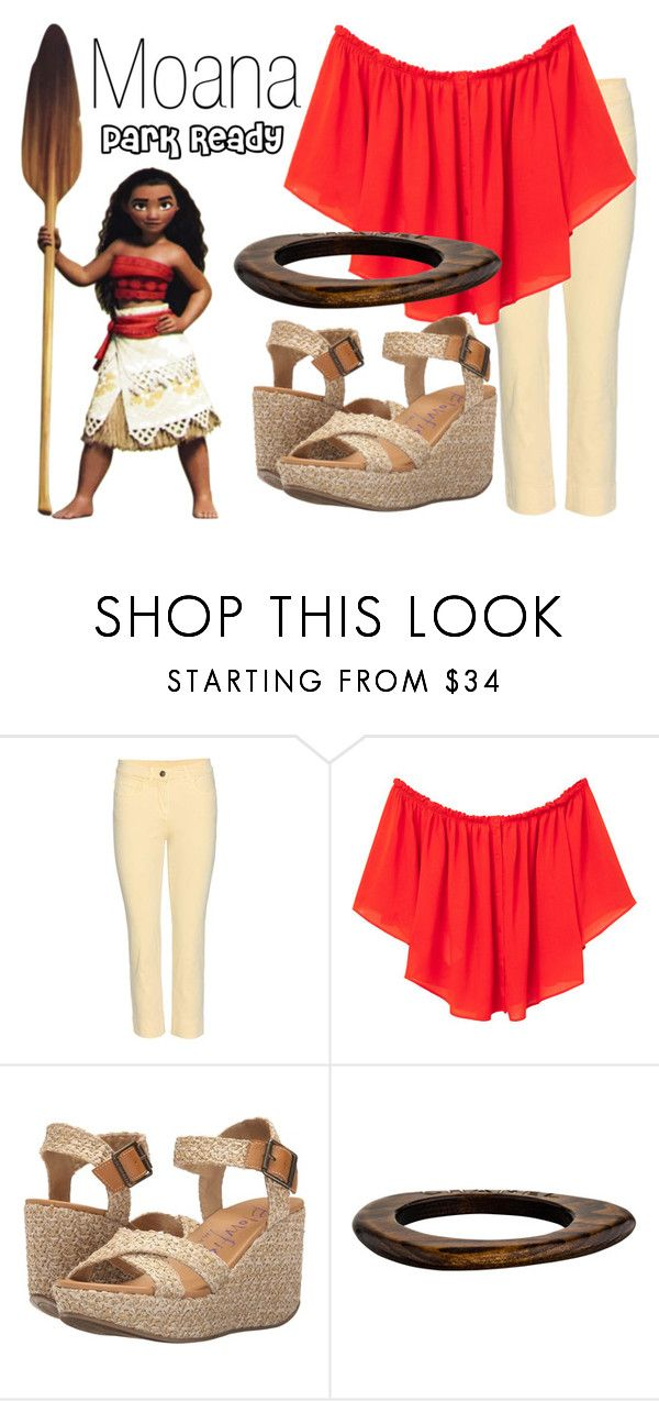 """Moana~ DisneyBound"" by basic-disney ❤ liked on Polyvore featuring Disney, Loro Piana, MANGO, Blowfish and Chanel"