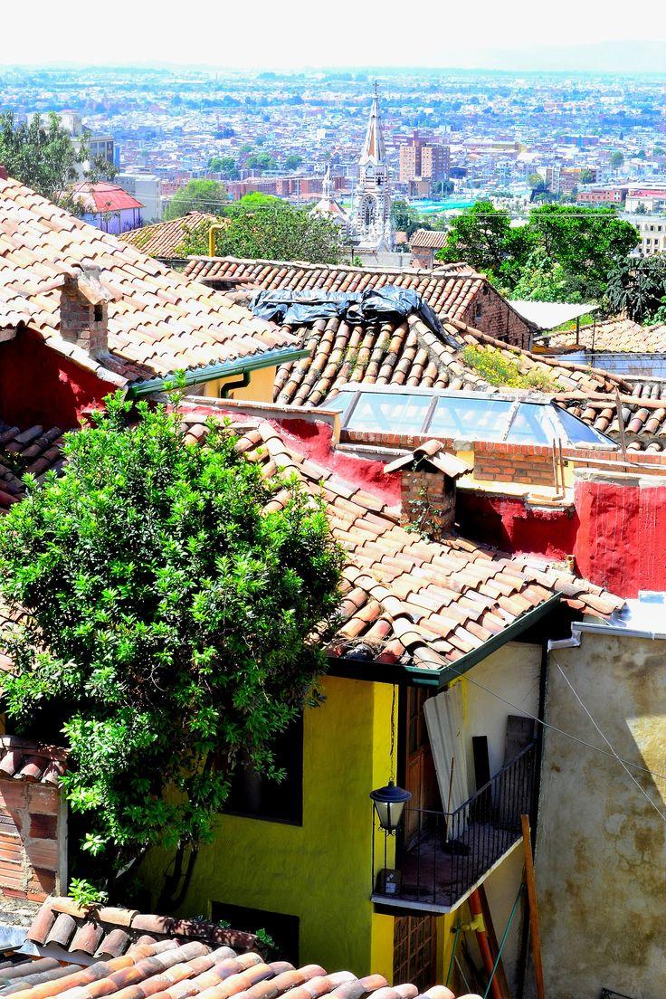 Barrio la Candelaria. Bogotá. Colombia.