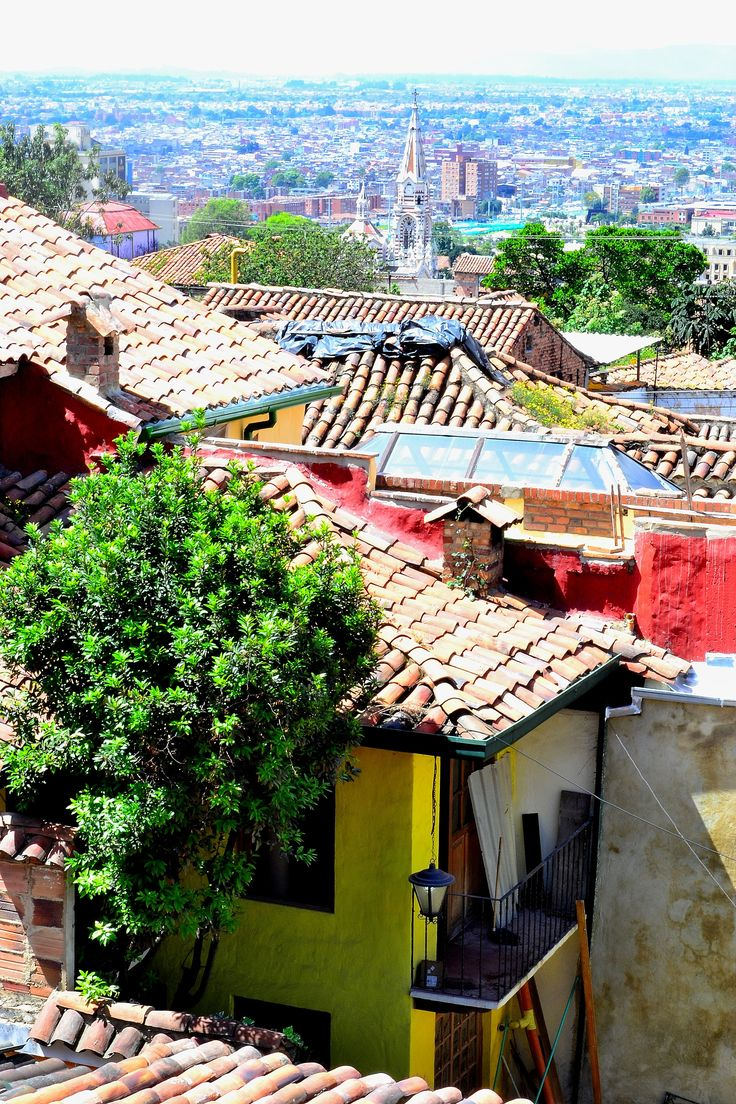 Barrio la candelaria bogot colombia milesph artista for Barrio el jardin cali colombia