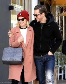 海外セレブニュース&ファッションスナップ: 【ジェイミー・ベル】幸せいっぱい!婚約ほやほやのケイト&ジェイミーが笑顔全開でお買い物デート!