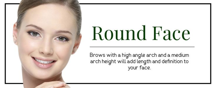 Eyebrow Shapes for round faces   Different Eyebrow Shapes