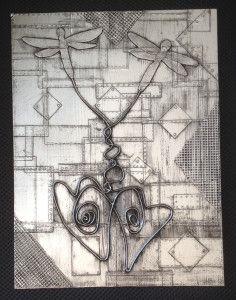 DIY Metal tape art by esp~