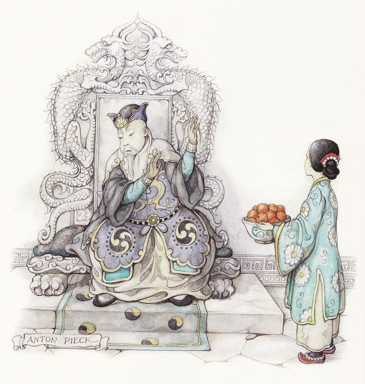 Chinese Nightingale - Tales of the Efteling by Martine Bijl and Anton Pieck
