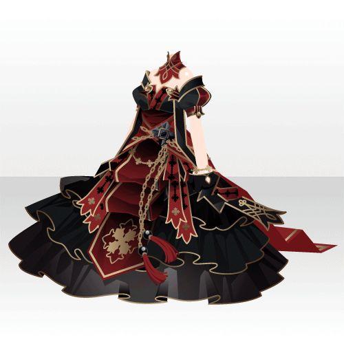上半身/インナー セメンテリアの皇女正装Aブラック