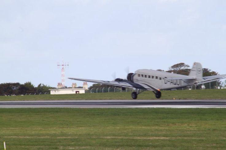 German JU-52 leaving after JIAD2015
