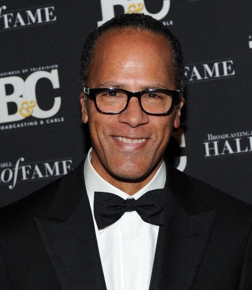 Lester Holt, love watching to see where you'll pop up on NBC. You're everywhere! And oh-so adorable.
