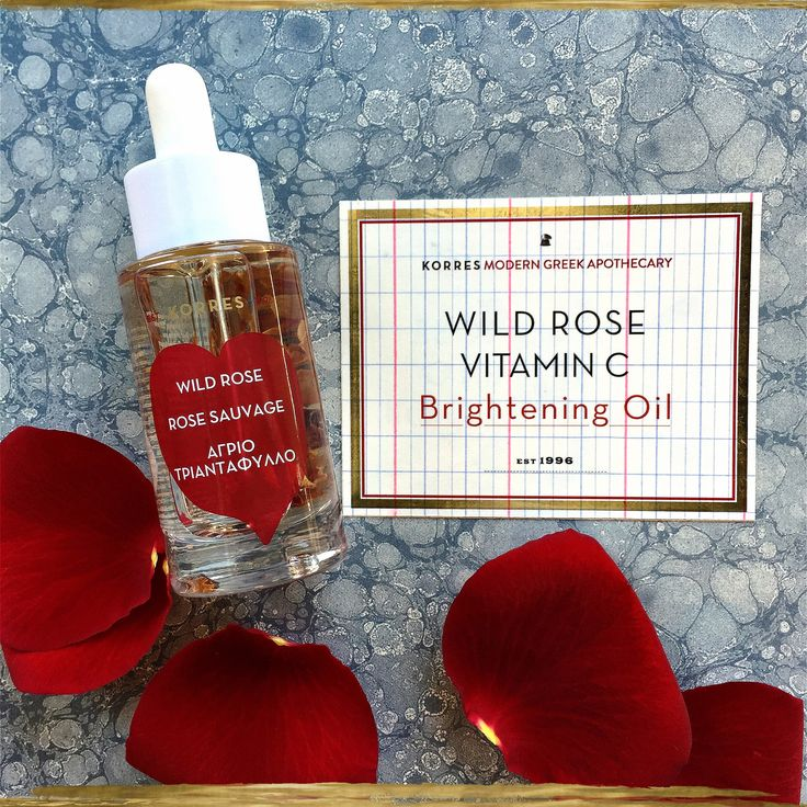 Wild Rose Face Oil #korres20