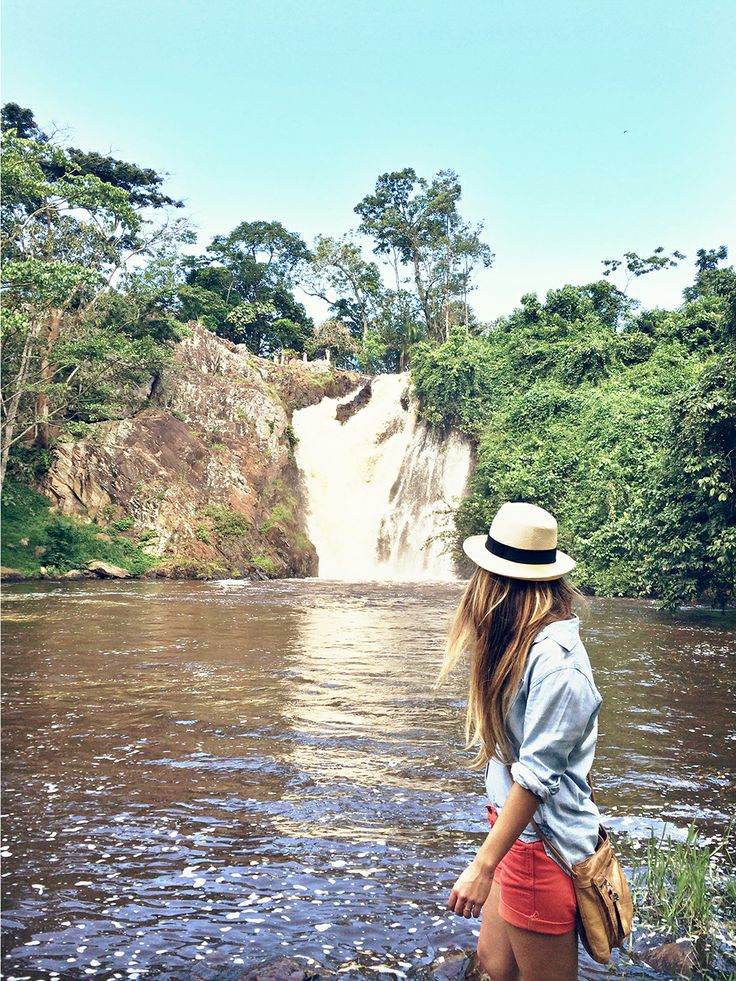 Cute Summer Outfits For Vacation: A Waterfall Hike At Ssezibwa Falls