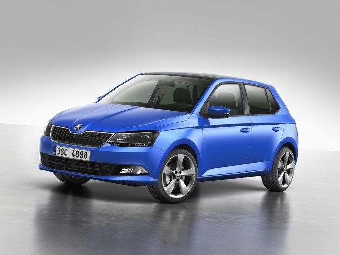 The new Skoda Fabia officially unveiled