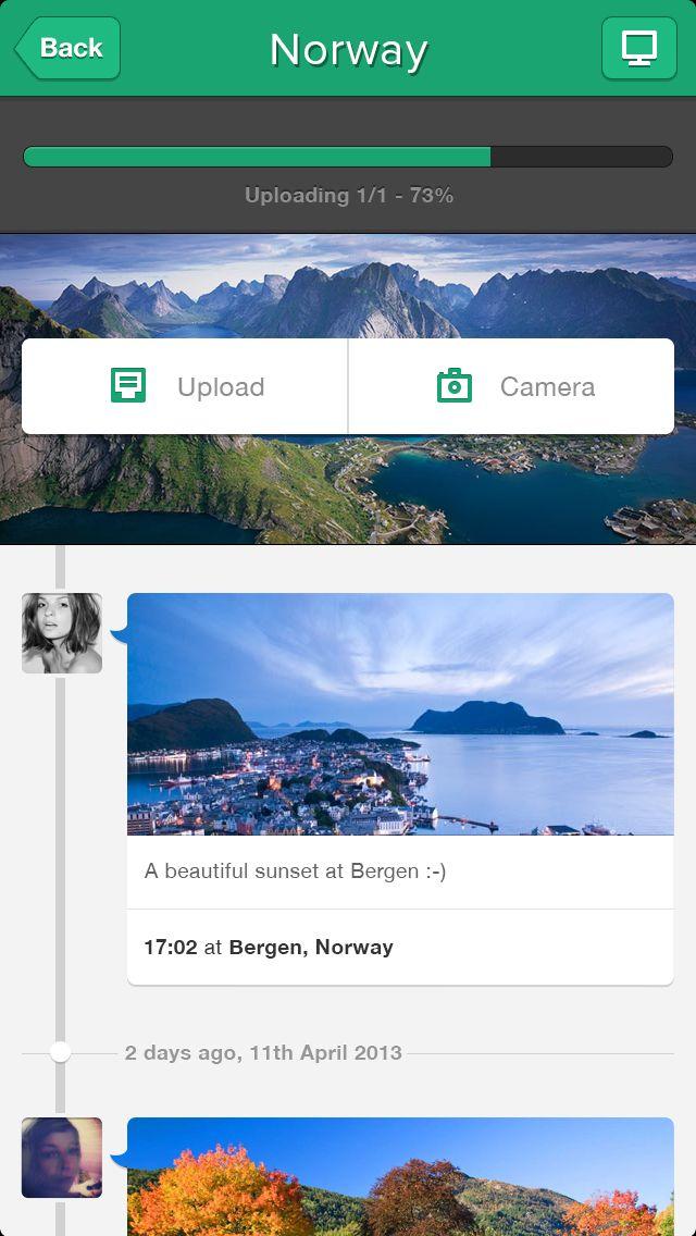 Trip+ iPhone app
