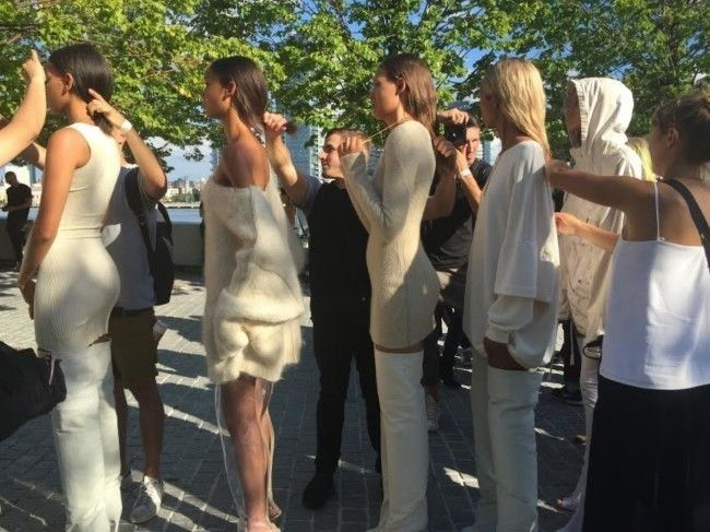 Yeezy Season 4 the collection and backstage http://ift.tt/2cMfc2w #VogueAustralia #Fashion