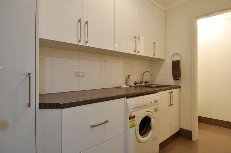 108 best custom laundries images on pinterest laundry for Bathroom cabinets joondalup
