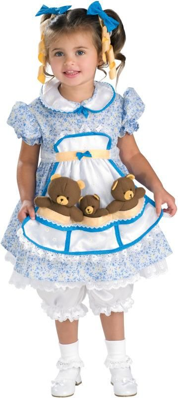goldilocks toddler girls costume