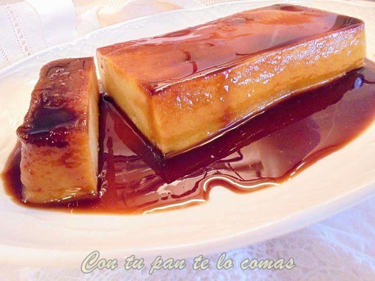 Con tu pan te lo comas: PUDIN DE MANZANA Y GALLETAS (Microondas)