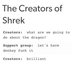 "Literally Just 27 Hilarious Jokes About ""Shrek"""