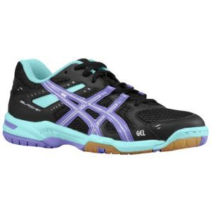 ASICS® Gel-Rocket 6 - Women's - Volleyball - Shoes - Black/Hot Pink/Neon Yellow.. I need these