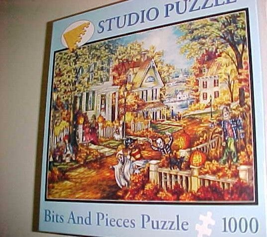 Bits & Pieces Puzzle 1000 Studio Tuula Burger Halloween On Royal York New #BitsAndPieces