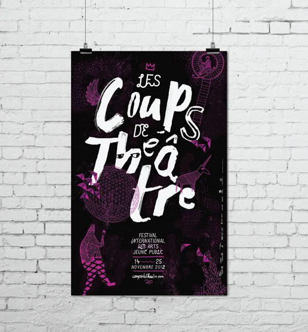 Coups de théâtre 2012 on Behance