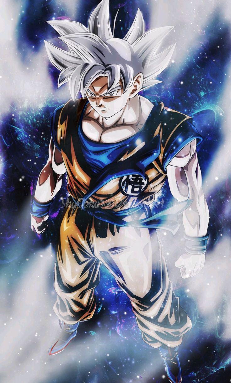 Goku Ultra Instinct - Mastered, Dragon Ball Super   Personnages de dragon ball, Dessin goku ...