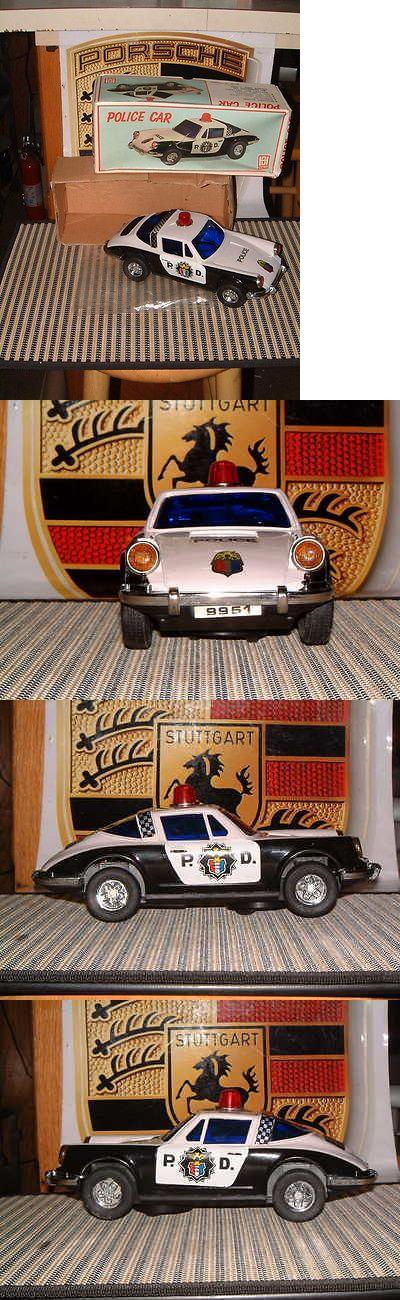 1970-1989 1185: Vintage Nos Hong Da Porsche 911 Police Car W Bump N Go. Working Perfectly W Box! -> BUY IT NOW ONLY: $89 on eBay!