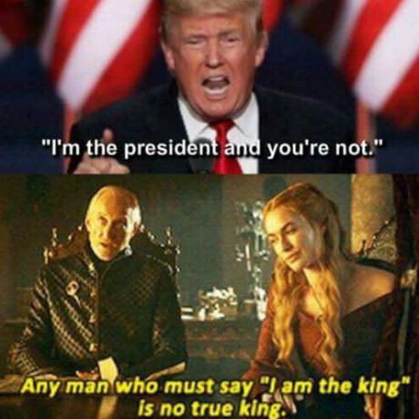 "Tywin Lannister knows what's up | any man who must say ""I'm am the king"" is no true king."