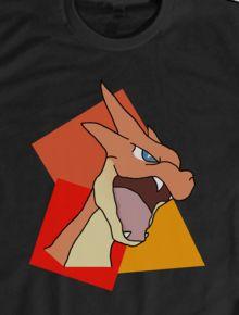 T-shirt charizard