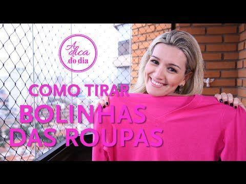 COMO TIRAR BOLINHA DE ROUPA - A Dica do Dia - YouTube