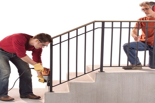 Best External Stair Railings Tips To Install Stair Railing 400 x 300
