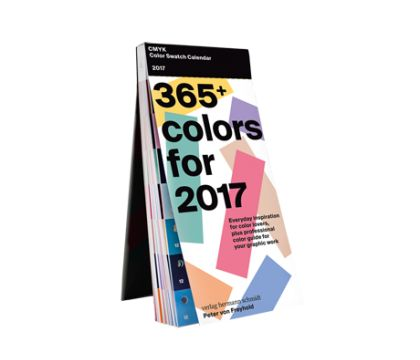 C | M | Y | K Color Swatch Calendar 2017